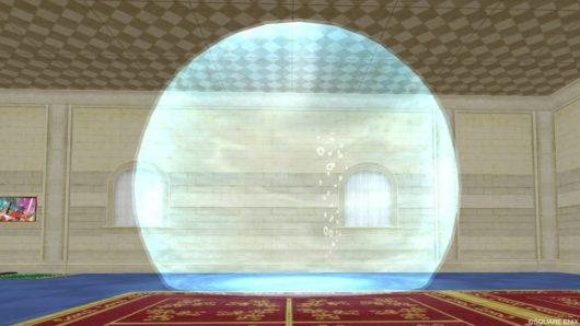大型の球体水そう