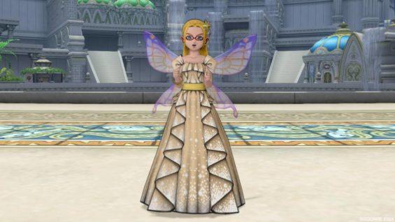 妖精の女王のドレス