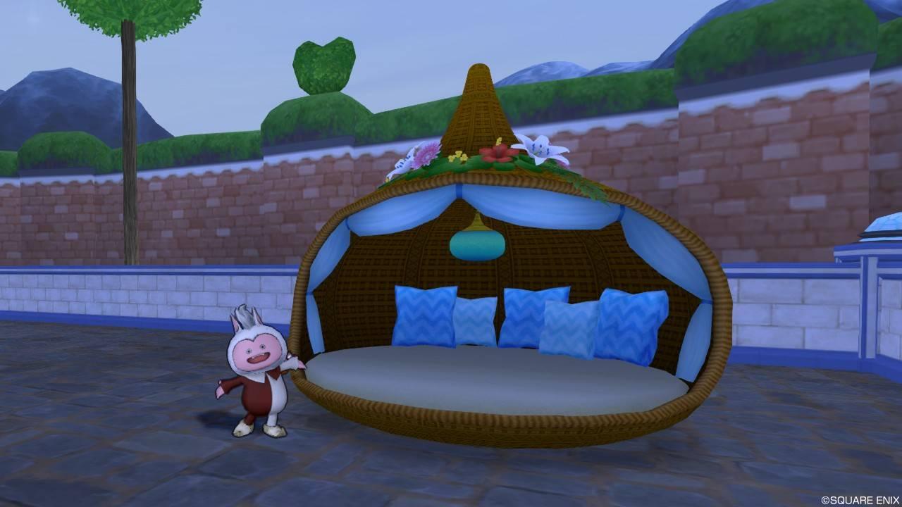 お庭用リゾートベッド