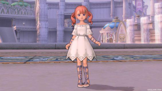 ルビーのドレス