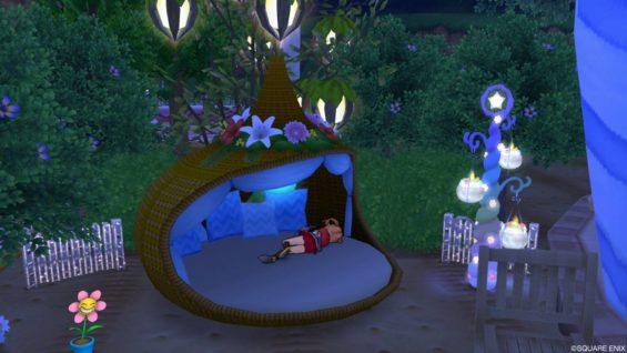 庭用リゾートベッド