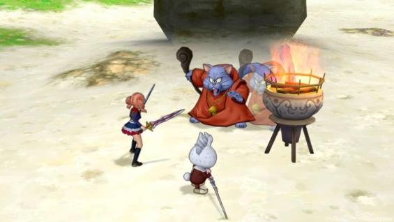 バージョン4.3砂上の魔神帝国開始 遊び人
