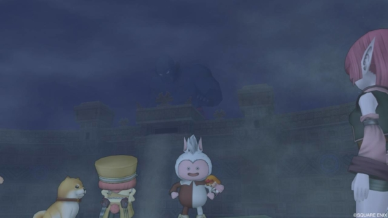 七不思議クエスト 砂塵にうごめく大巨人