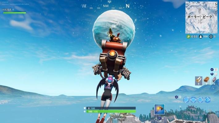 フォートナイト 謎の球体
