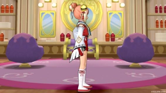 天地雷鳴士の装束を使った巫女さんコーデ