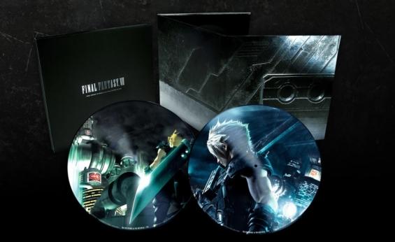 FF7&FF7リメイク LPレコード