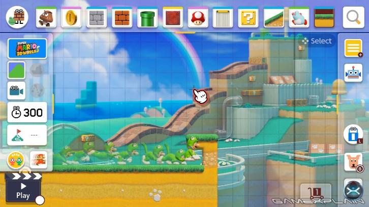 スーパーマリオメーカー2」猫ルイージが勝手に上昇していって