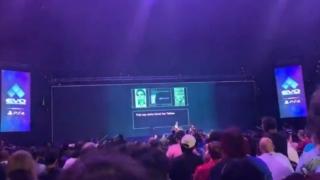 EVO2019で流されたスネークのジョーク映像