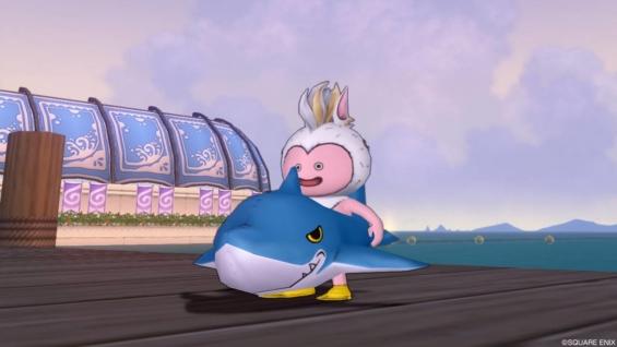 トラシュカ2019でのサメの浮き輪