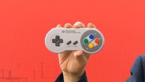 スーパーファミコン Nintendo Switch Onlineのスーファミコントローラー