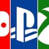 PS4とSwitchとXboxOneのロゴ