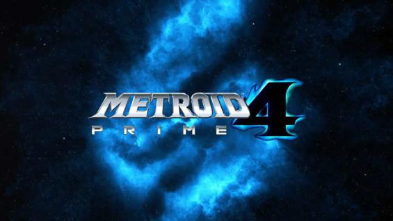 メトロイドプライム4のロゴ