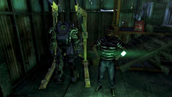 Fallout76のパワーアーマーステーション