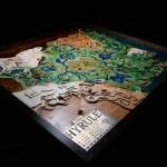 ゼルダファンが制作した立体マップ