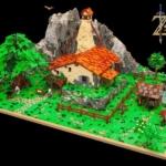 LEGOで作ったリンクの家