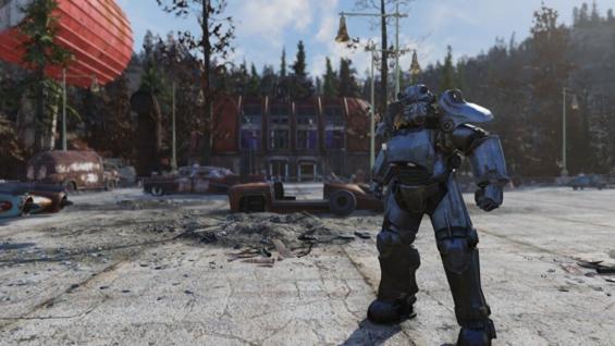 Fallout76のガラハン鉱業本社