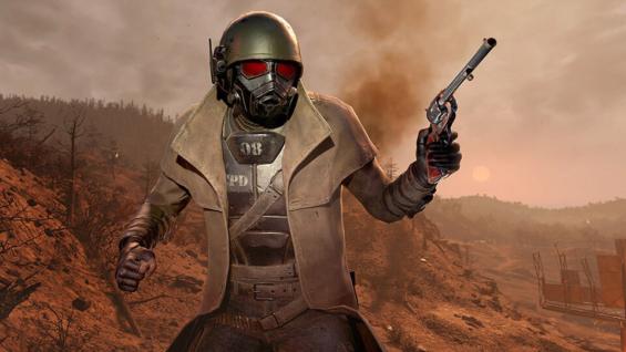 Fallout76の新サービス「Fallout 1st」で使用できるレンジャーアーマー