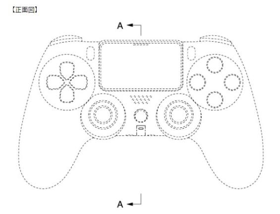 PS5のコントローラーの意匠登録情報