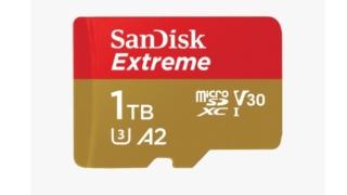 サンディスクの1TBmicroSDカード