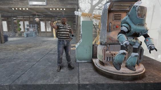 Fallout76のスカベンジャーのコレクトロンステーション