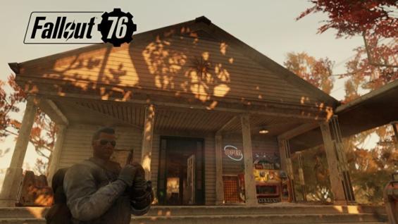 Fallout76のバークレー・スプリングス駅