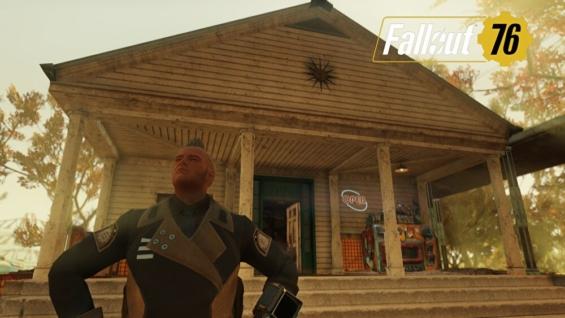 fallout76のバークレースプリングス駅