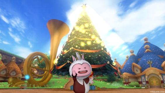 オルフェアに建っているクリスマスツリー