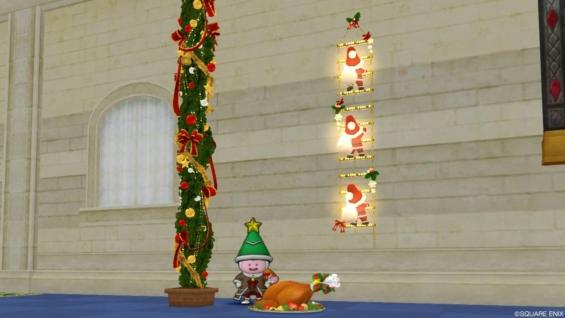 クリスマスイベント2019「ツリーは白銀に消ゆ」の家具