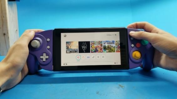 ゲームキューブコントローラー型Joy-Con