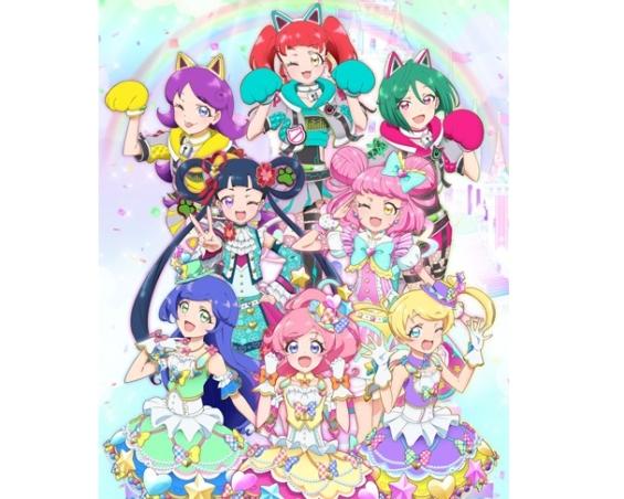 キラッとプリ☆チャン』シーズン3のティザービジュアル