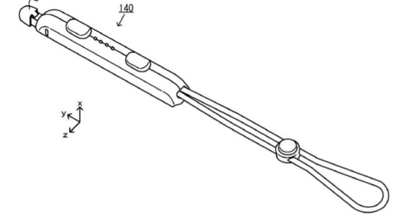 任天堂の新しいJoy-Conストラップの特許