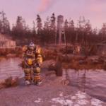 Fallout76ソロモンの池のスクショ