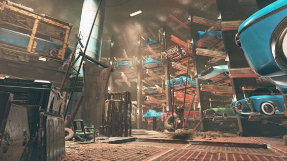 Fallout76のワトガ地下