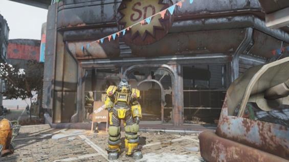Fallout76のワトガショッピングモール