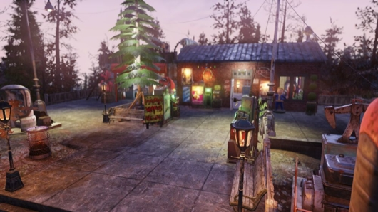 完成したバルカズのC.A.M.P.(キャンプ)の玄関先