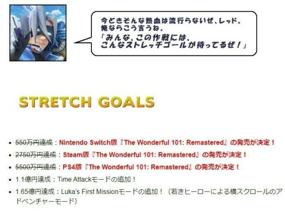 The Wonderful 101: Remastered(ザ・ワンダフル ワン・オー・ワン: リマスタード)