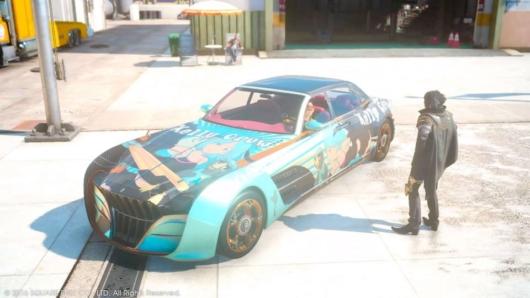ファイナルファンタジーXVの痛車
