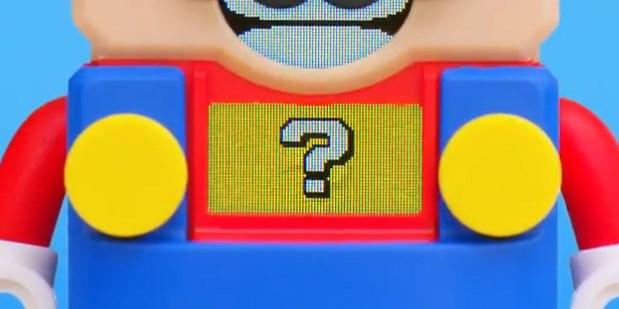 レゴとスーパーマリオのコラボ