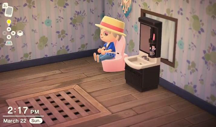 あつまれ どうぶつの森のトイレ