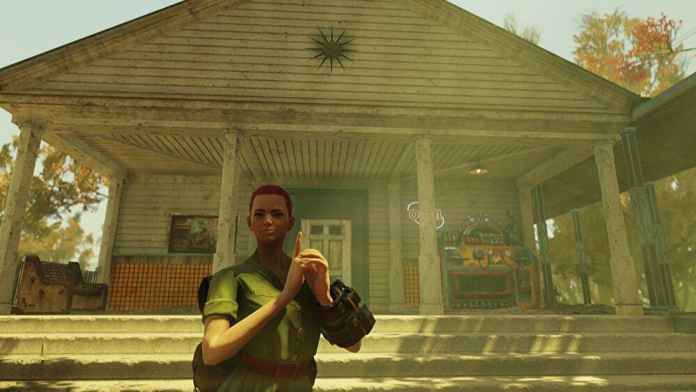 Fallout 76のバークレー・スプリングス駅