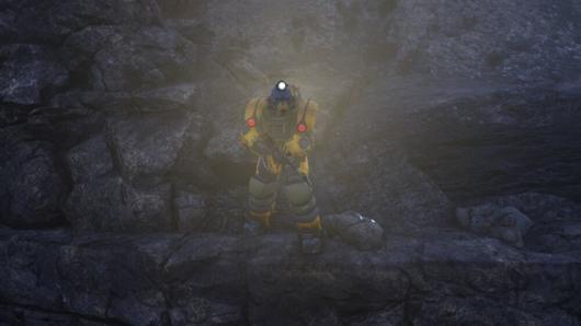 Fallout76「ホーンライトの試験場#03」にある鉄鉱石