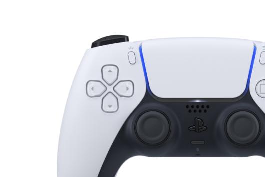 PS5のコントローラー「DualSense(デュアルセンス)」のアップ