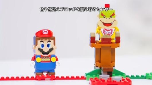 レゴ スーパーマリオのマリオフィギュア