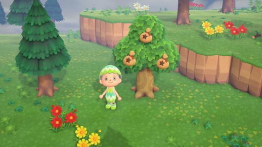 「あつまれ どうぶつの森」3つ目のベルの木