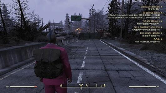 Fallout 76ウェイストランダースのカットスローツのキャンプ