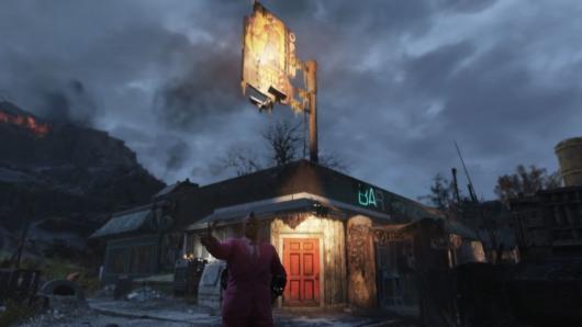Fallout 76ラスティ・ピック前の写真