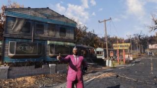 Fallout76の新ロケーション「ザ・ウェイワード」