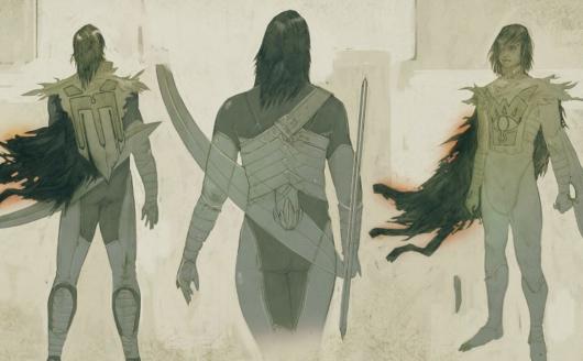 キャンセルされた「ゼルダの伝説」のコンセプトアート