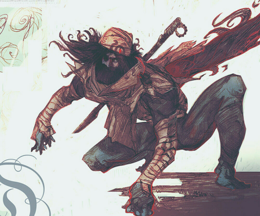 キャンセルされた「ゼルダの伝説」のコンセプトアート「シーカー族の男性4」