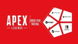 Apex Legendsのクロスプレイのイメージ